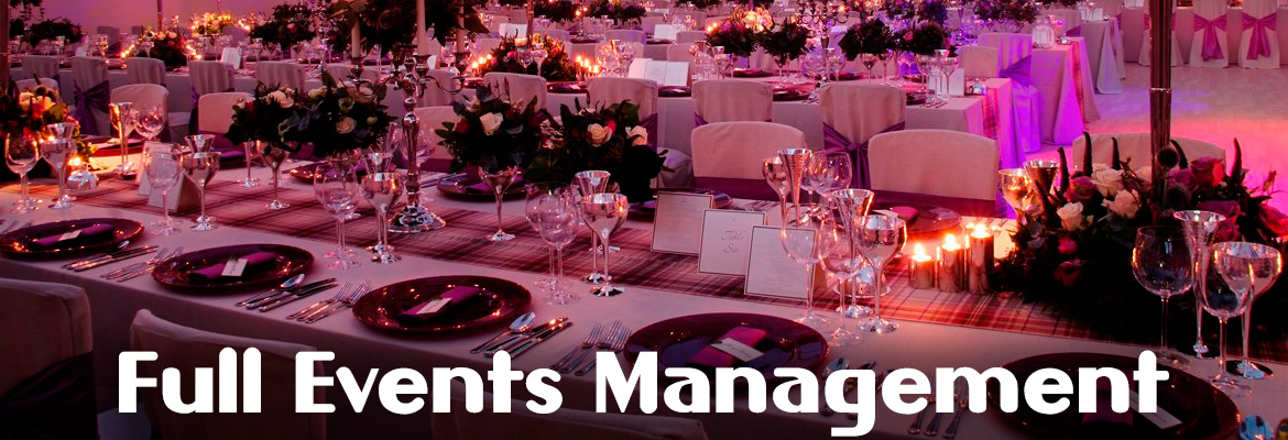 Full Events Management