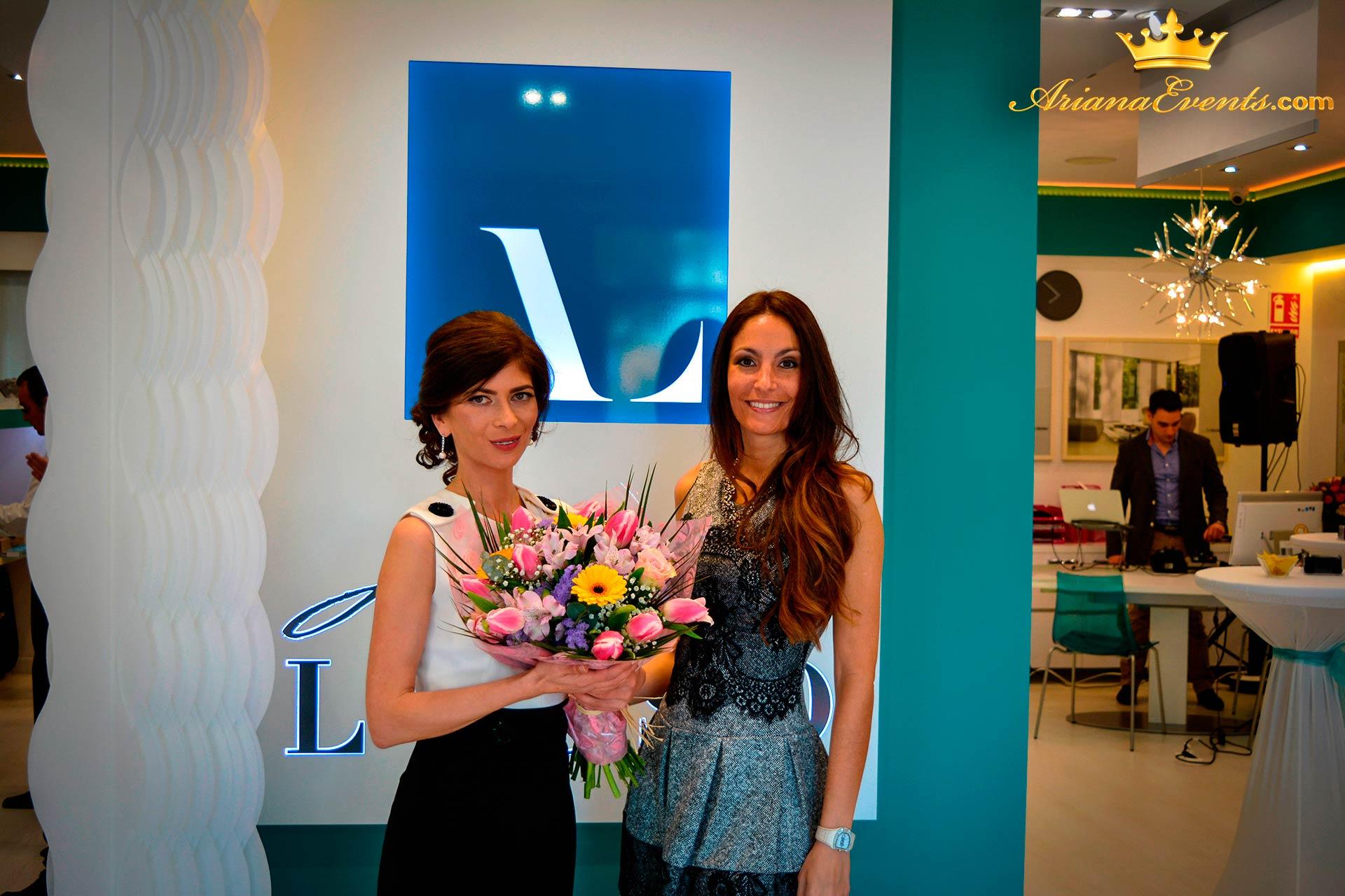 Ariana & Svetlana - Arte del Lusso Opening Party www.arianaevents.com